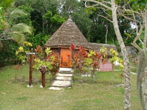 Native Hut in Lifou, Loyalty Island