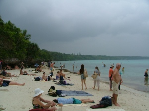 Beach in Lifou, Loyalty Island