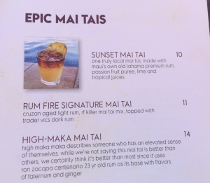 Mai Tai Options