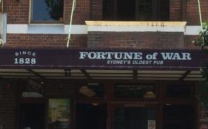 Fortune of War, Sydney's Oldest Pub