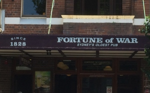 Fortune of War, Sydney's Oldest Pub