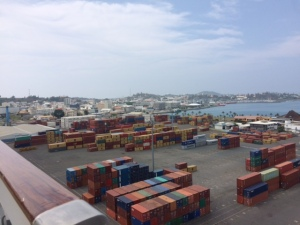Noumea, New Caledonia Cargo Port